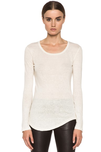 Lacy Linen Tee