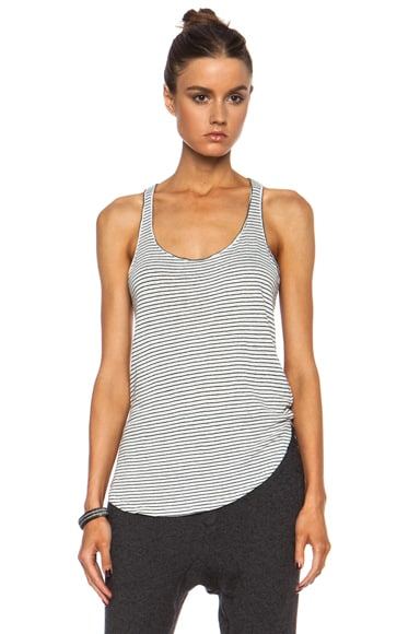 Ivor Striped Linen Tank