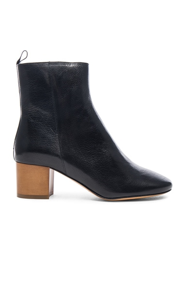 Deyis Leather Baby Jane Boots