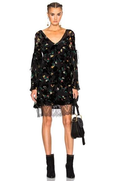 Kim Velvet Dress