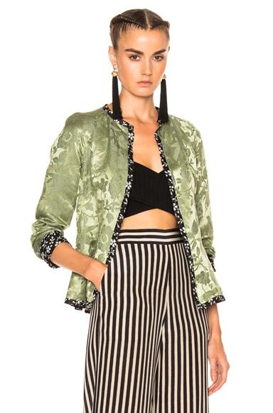 Floral Lined Jacket