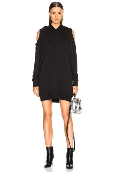 Hooded Sweat Shirt Dress
