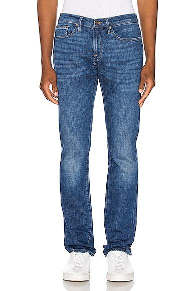 Frame Jeans FRAME L'HOMME SLIM JEAN IN VERDUGO