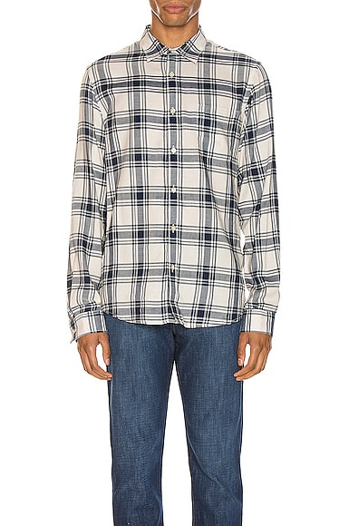 Long Sleeve Single Pocket Shirt