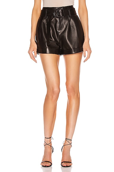 Paperbag Leather Short