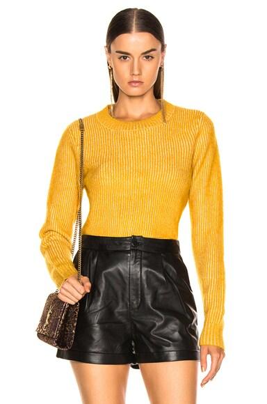 Mohair Crew Sweater