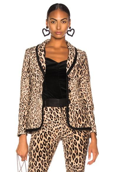 Fitted Velvet Jacket