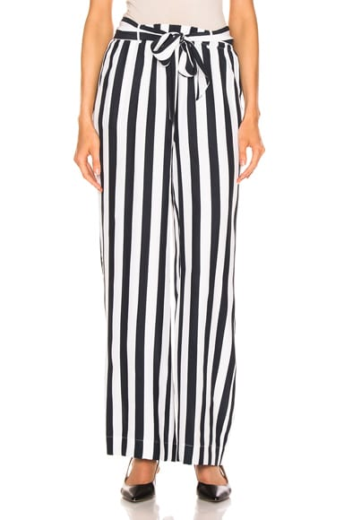Stripe Easy Pant