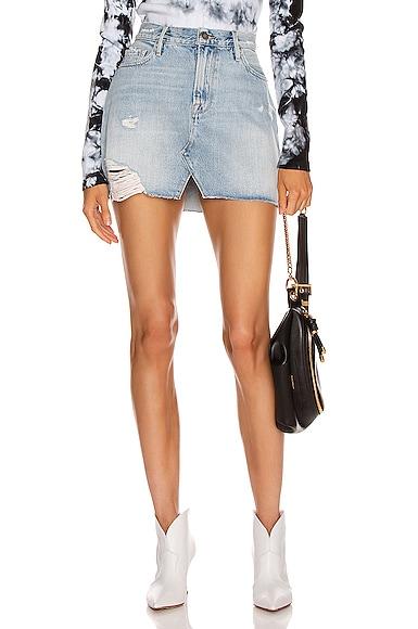 Le Mini Skirt Split Front
