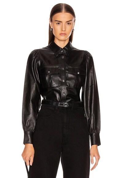 Feminine Military 70's Shirt