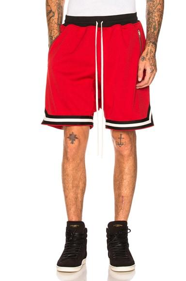 Mesh Drop Crotch Shorts