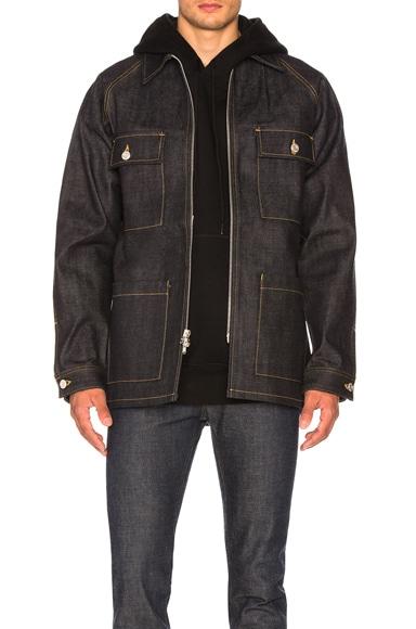 Selvedge Denim Long Jacket