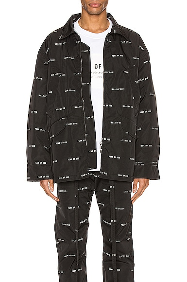 All Over Print Nylon Field Jacket