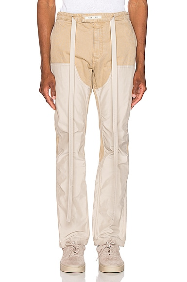 Nylon Double Front Work Pant