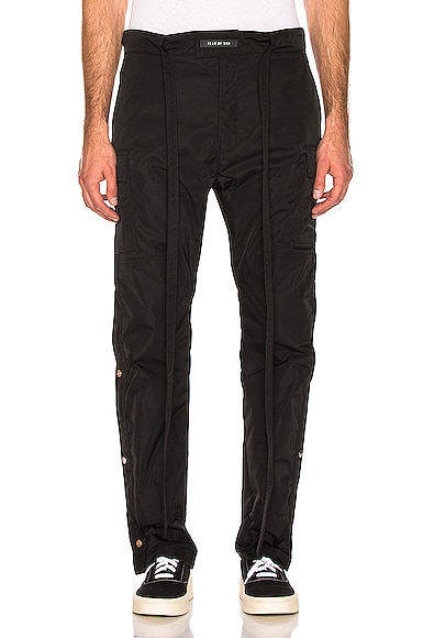 Nylon Cargo Pant