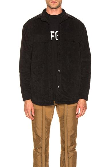 Ultrasuede Shirt Jacket