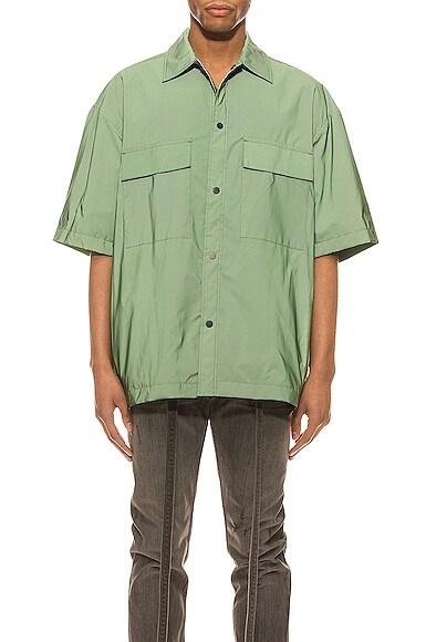 Oversized Nylon Shirt