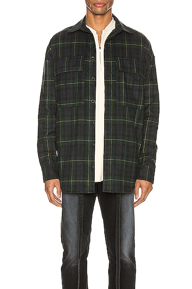 Long Sleeve Plaid Button Up