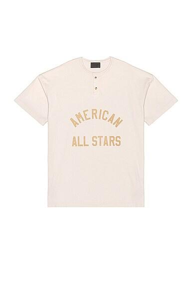 All Star Henley Tee