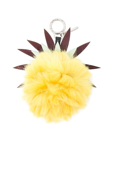 Fruits Fox Fur Bag Charm