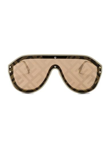 Logo Face Sunglasses