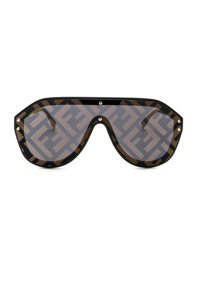 Logo Face Sunglasses