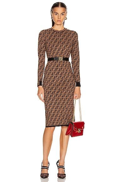 Longsleeve FF Midi Dress