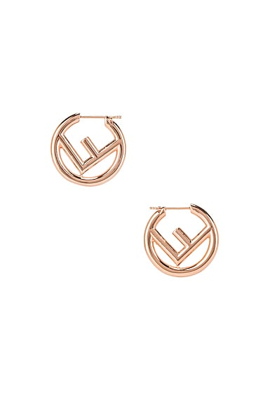 Mismatched Mini Logo Hoop Earrings