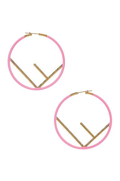 Logo Hoop Earrings