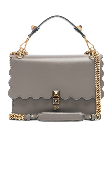 Scallop Chain Crossbody Bag