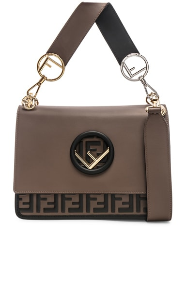 Two Tone Logo Shoulder Bag