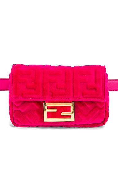 FF Velvet Hip Belt Bag