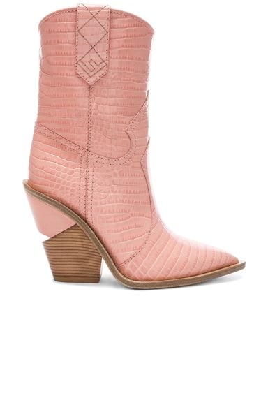 Croc Embossed Cutwalk Western Boots