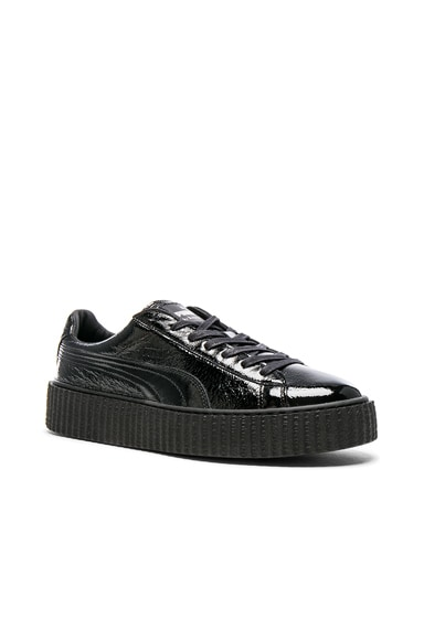 Cracked Leather Creepers