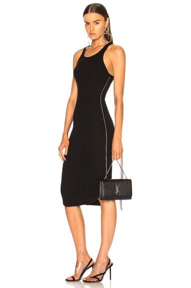 Side Seam Rhinestone Dress