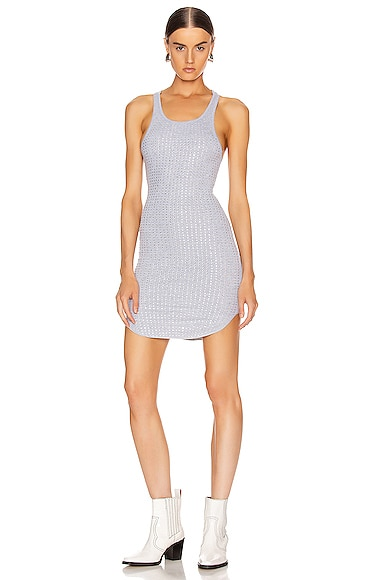 Shea Crystals Tank Mini Dress
