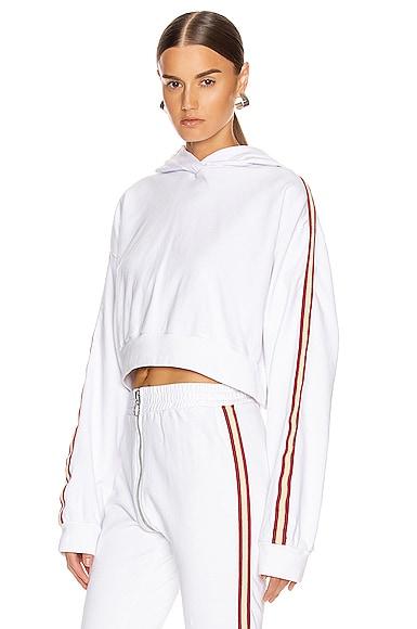 Kylie Cropped Sport Hoodie