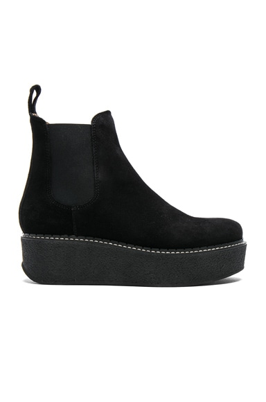 Suede Gibus Boots