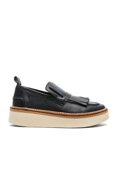 Leather Trianon Loafers