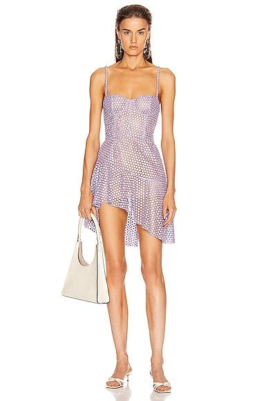 Asymmetrical Bustier Dress