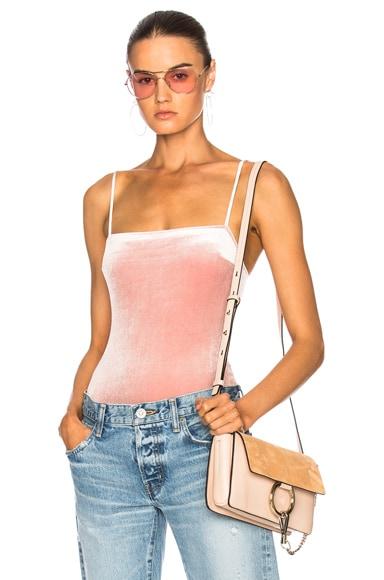 Velvet Straight Bodysuit