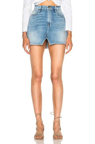 Le Mini Skirt Split Front