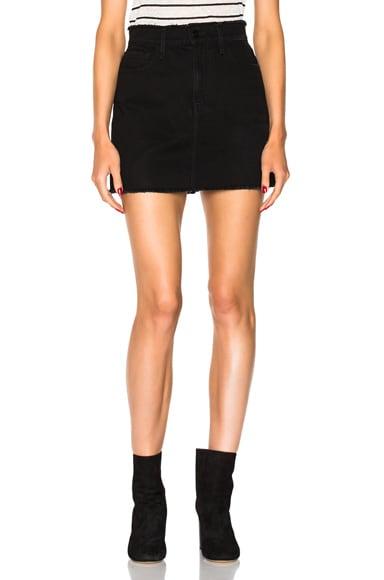 Le Mini Skirt Frayed