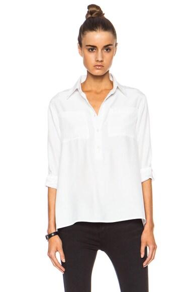 Shirt Le Boyfriend Silk Top