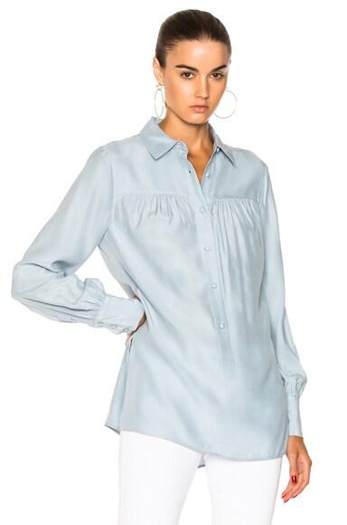 Tunic Silk Blouse