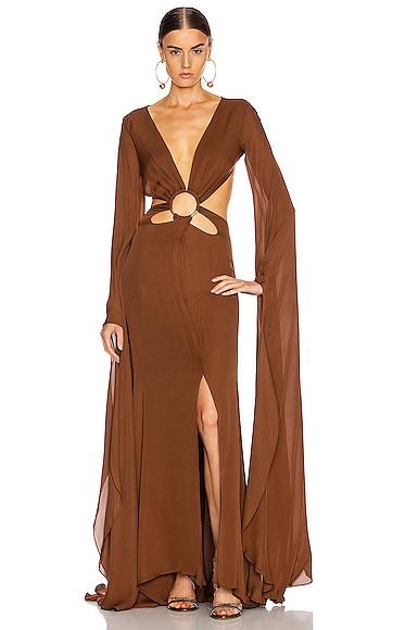 Jasmin Cutout Gown