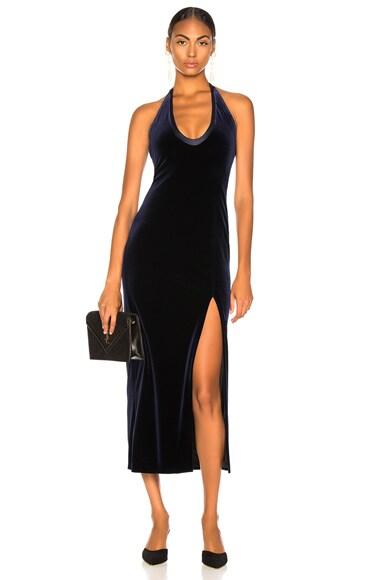 Velvet Ellipse Dress