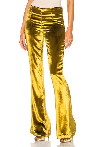 Panne Velvet Trousers