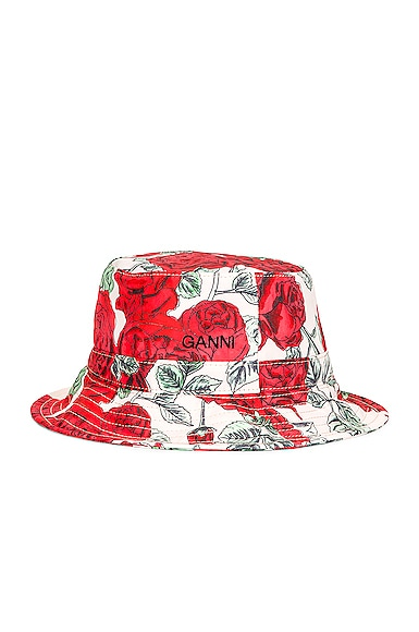 Ganni SEASONAL RECYCLED TECH HAT