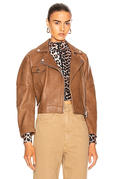 Grain Leather Jacket